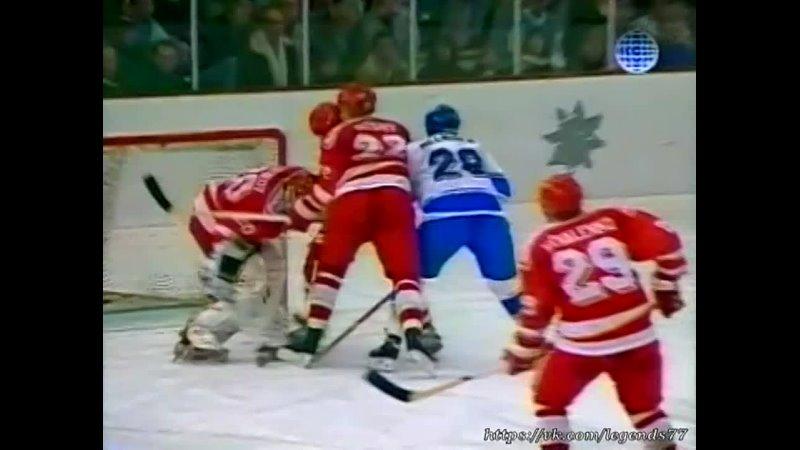 18 02 1992 Олимпиада матч СНГ Финляндия Четвертьфинал