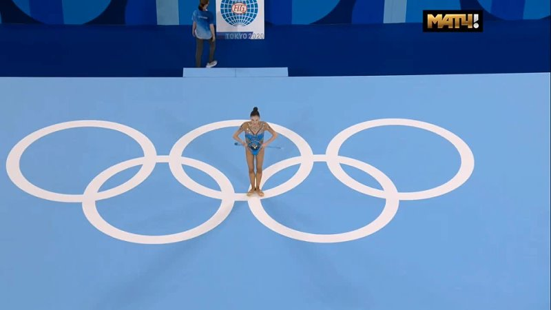 Алина Адилханова булавы многоборье Олимпийские Игры Токио 06 08 08 21