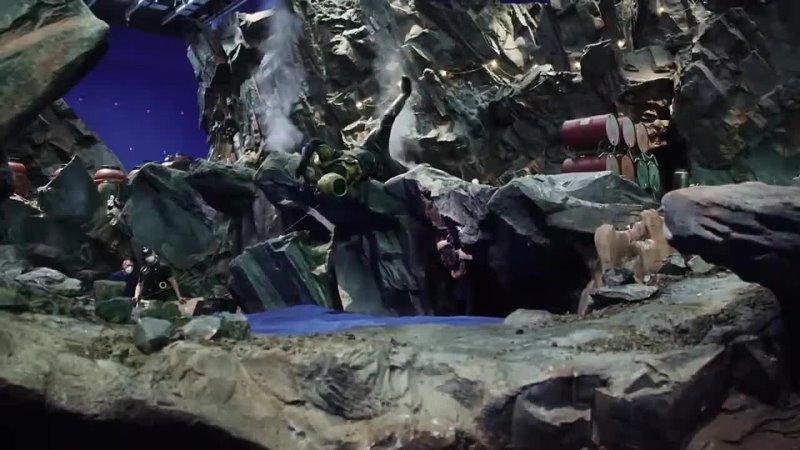 AQUAMAN 2 AND THE LOST KINGDOM Видео со съемок фильма 2022