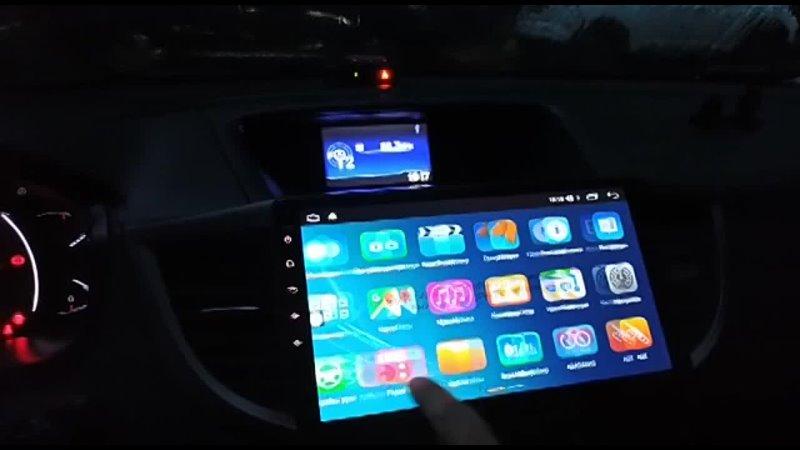 Видео от Штатные магнитолы головные устройства Android