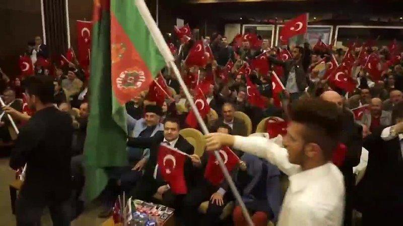 Dünya Karapapak Türkleri Birliği Başkanvekili E Albay Aytekin Özen Sivas Kurultayında konuştu 1080 X 1920 mp4