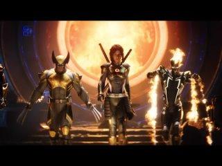 Marvel's Midnight Suns (2022) – 2K/ Анонс Трейлера Игры/ Озвучка