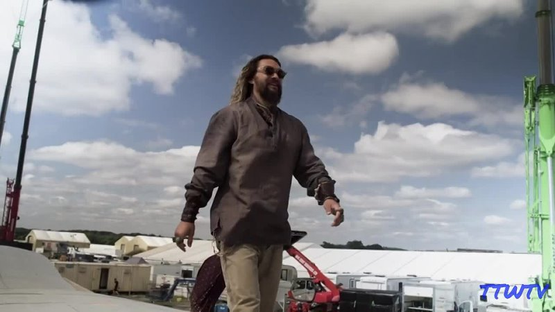 Behind The Scenes Aquaman and the Lost Kingdom