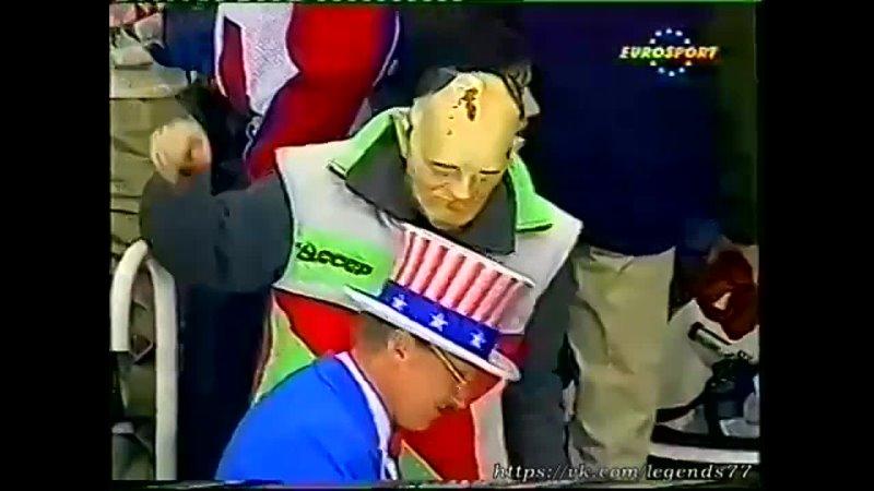 21 02 1992 Олимпиада матч СНГ США Полуфинал