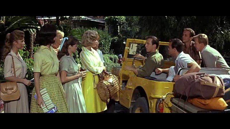 Джина Лоллобриджида в фильме Приходи в сентябре Комедия мелодрама США Италия 1961