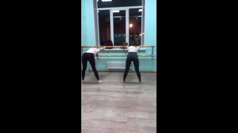 Видео от Растяжка Танцы Балет СПб МУРИНО