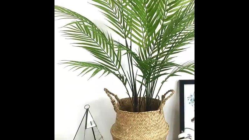 Искусственное растение большого размера Бамбуковая ладонь 80