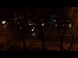 ❗Пробки у квартала 100 ❗ 18.00. ул.Ломоносова в ра...