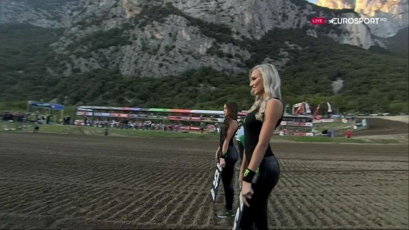 Видео MXGP 2021 14 этап Италия Трентино Чемпионат мира по мотокроссу 2 заезд