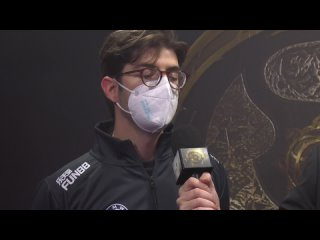 Interview with Ceb after the loss vs Team Spirit @ TI10