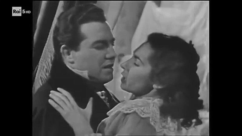 Дж Верди Травиата Розанна Картери фильм опера Италия 1954 г Verdi La Traviata