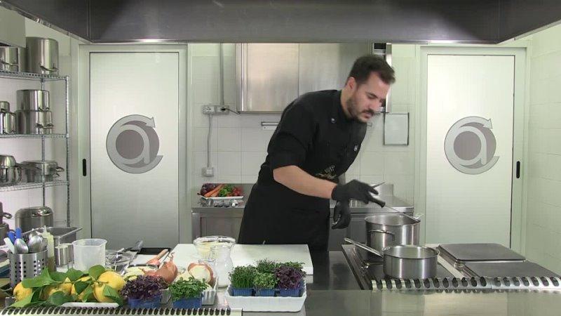 03 Arancino di riso ripieno con ragù di totano e zabaione al Grana Padano