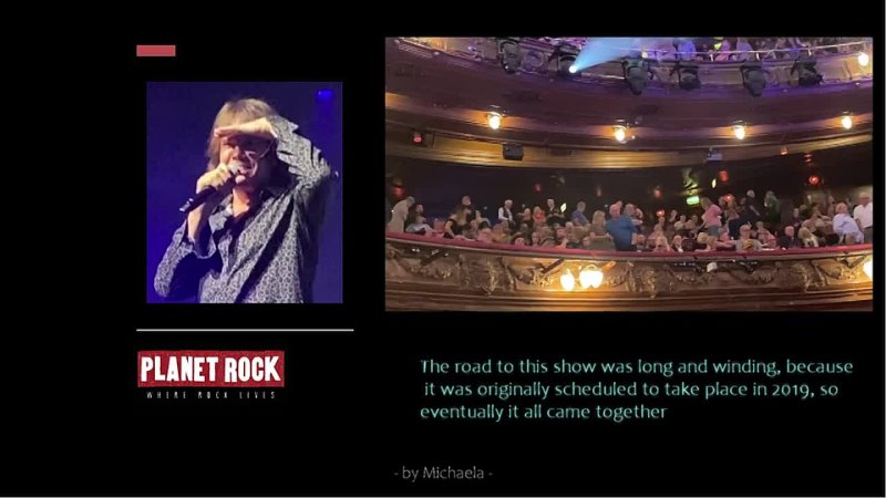 Joey Tempest interviewed by Planet Rock on Zeppelin Symphonic show Oct 10th