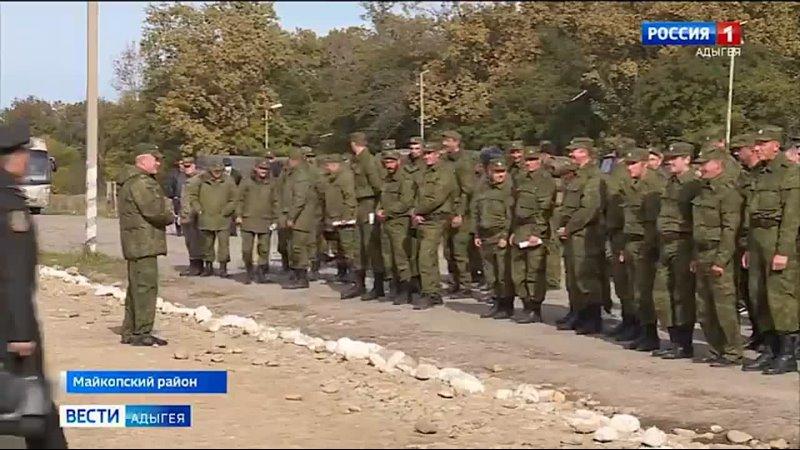 На майкопском полигоне подвели итоги первой смены БАРС - боевого армейского резерва страны. В него вошли