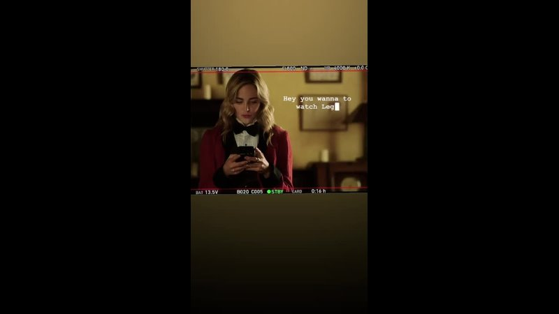 Публикация в Instagram Stories Кейти Съёмки седьмого сезона сериала Легенды завтрашнего дня 13 10 2021