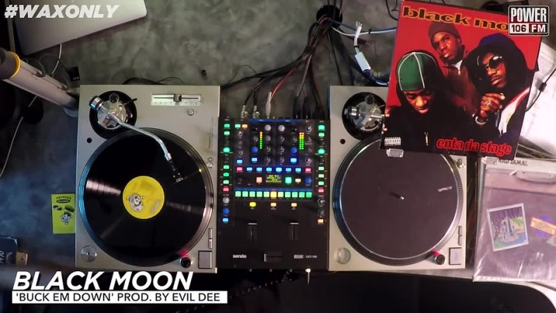 Discover Classic Samples On Black Moons Enta Da Stage