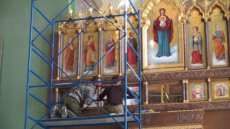Храм в честь Вознесения Господня Освящение придела в честь иконы Божией Матери Неопалимая Купина