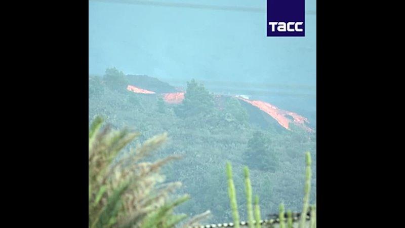 Власти Испании не знают сколько продлится извержение вулкана на Пальме