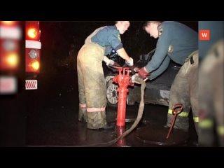 Сюжет о работе выборгских пожарных выходил в эфир ...
