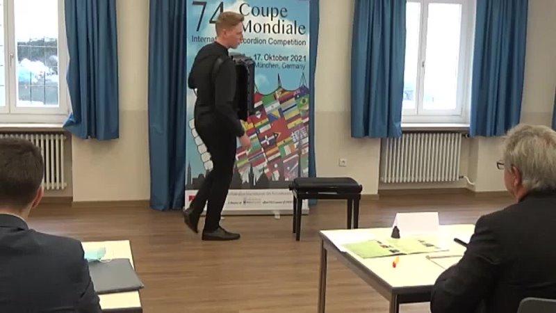Mykola Syniahivskiy Ukraine Round I