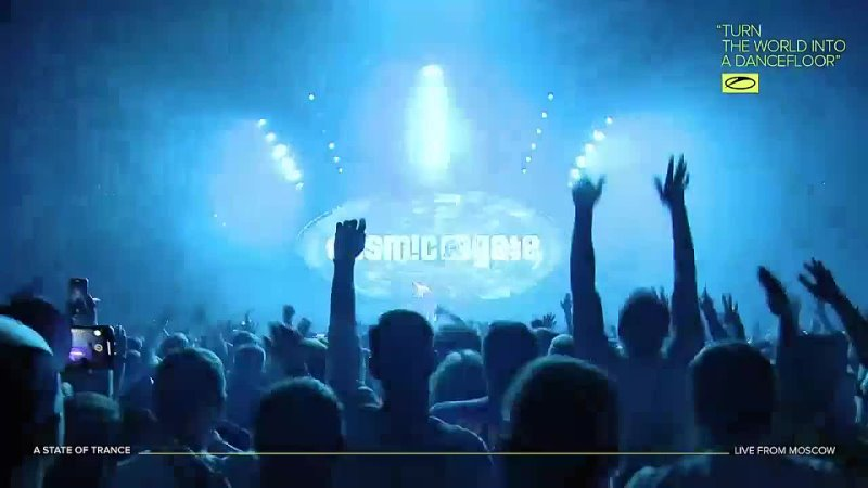 Cosmic Gate A State Of Trance Festival 1000 Music Media Dome Moscow Russia 08 10 2021