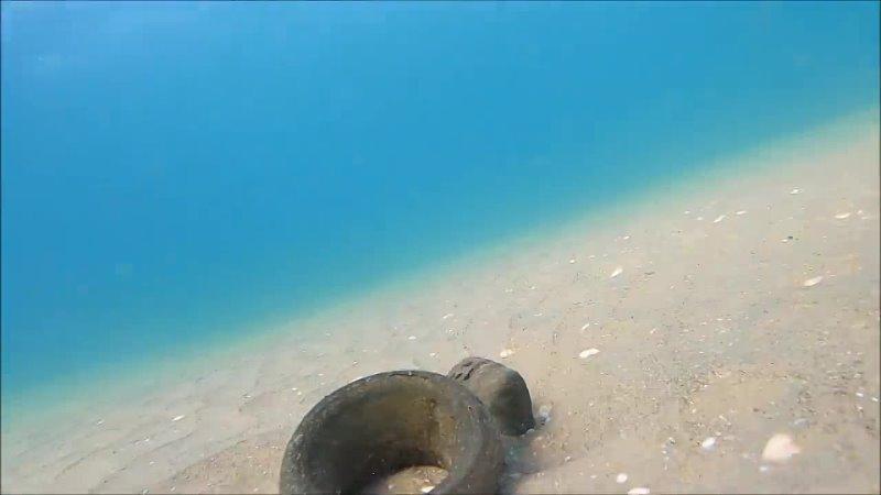 Меч крестоносца найден на дне моря в Израиле