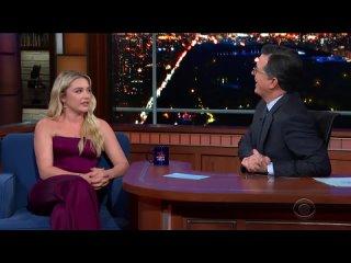 2019 | Интервью Флоренс и каста для телешоу «The Late Show with Stephen Colbert»