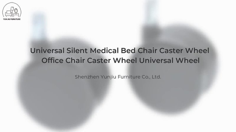 Universal Silent Medical Bed Chair Caster Wheel Office Chair Caster Wheel Universal Wheel