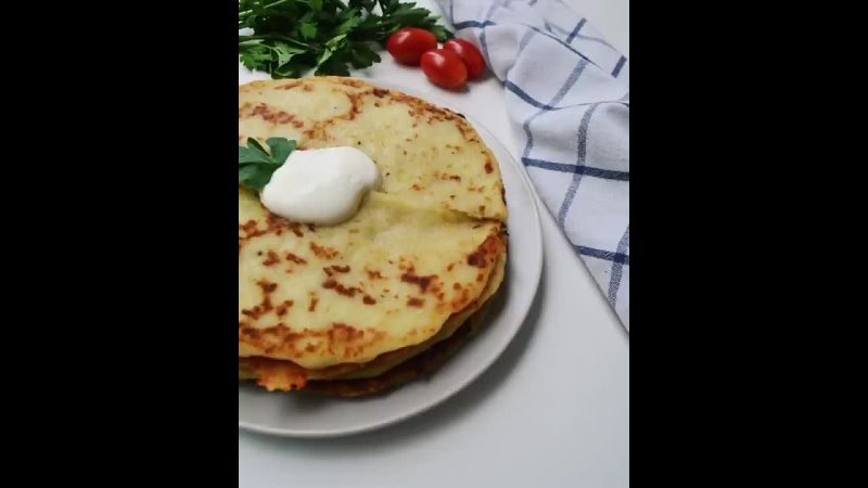 Хозяйка большого дома Рецепты и советы Картофельно сырные лепешки
