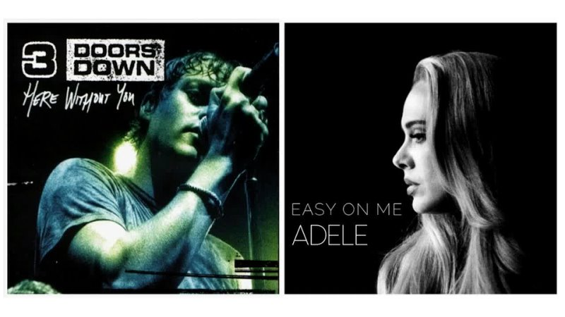 075 3 Doors Down VS Adele Easy Without You Kill mR DJ mashup 2021 Video Audio