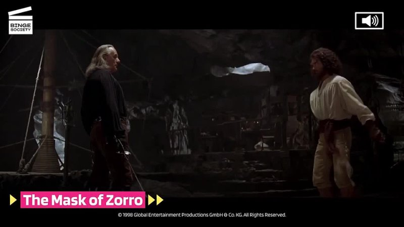The Mask of Zorro Training to become Zorro