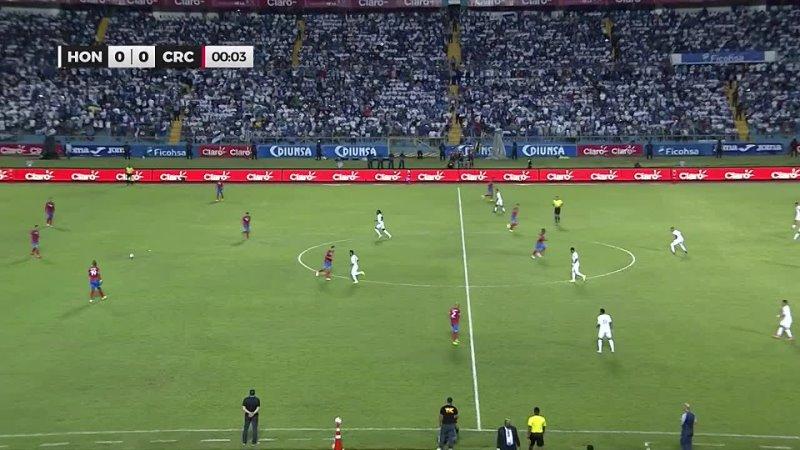 Гондурас Коста Рика Отбор на ЧМ 2022 3 раунд 4 тур