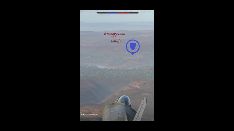 Daebom I passed my missile │Daebom War Thunder Shorts
