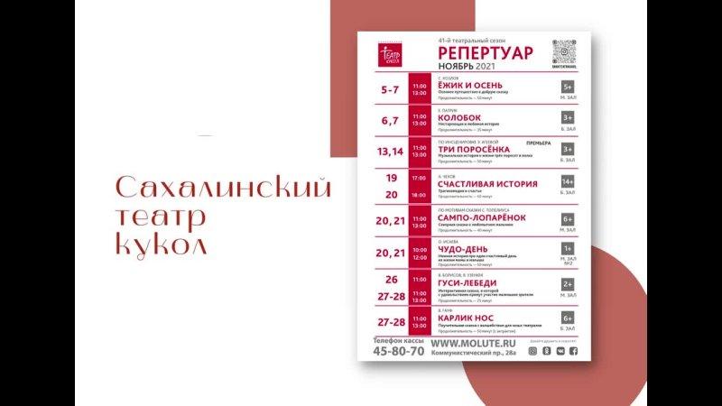Видео от Сахалинский театр кукол