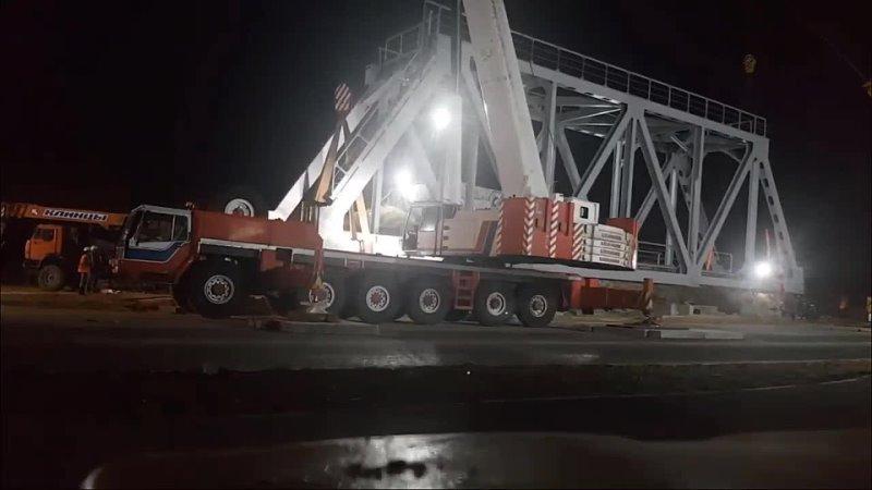 ???? На Камышовом шоссе появился железнодорожный мост    В Севастополе на Камышовом шоссе в ночь... [читать продолжение]
