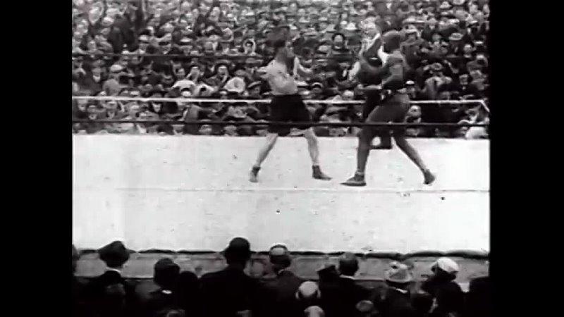 Jack Johnson vs Stanley Ketchel 16 10 1909