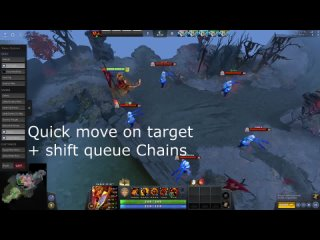 Searing Chains as Ember in Sleight of Fist using Quick Move