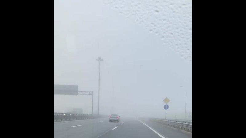 А вы застали туман этим утром?...????️ Санкт-Петербург