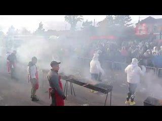 Три центнера шашлыка или мировой рекорд по пригото...