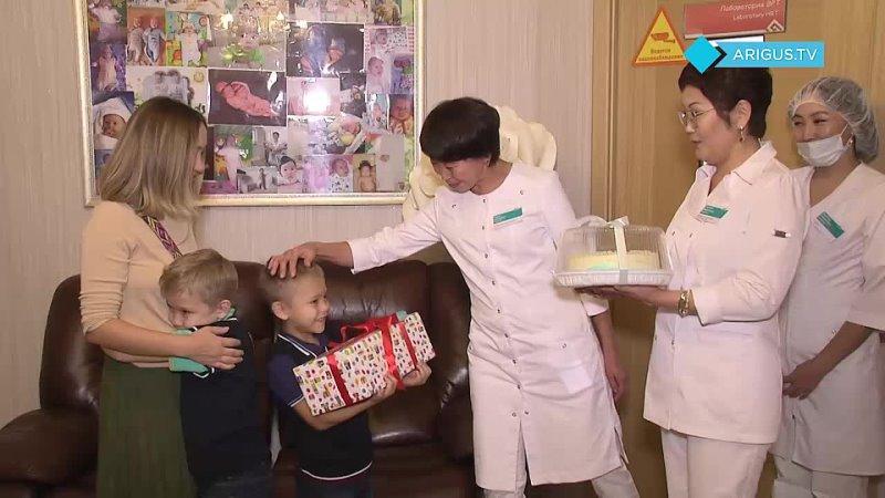 В Бурятии семилетие празднуют первые дети родившиеся с помощью ЭКО