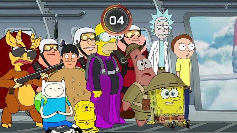 Cartoon Legends Battle Royale