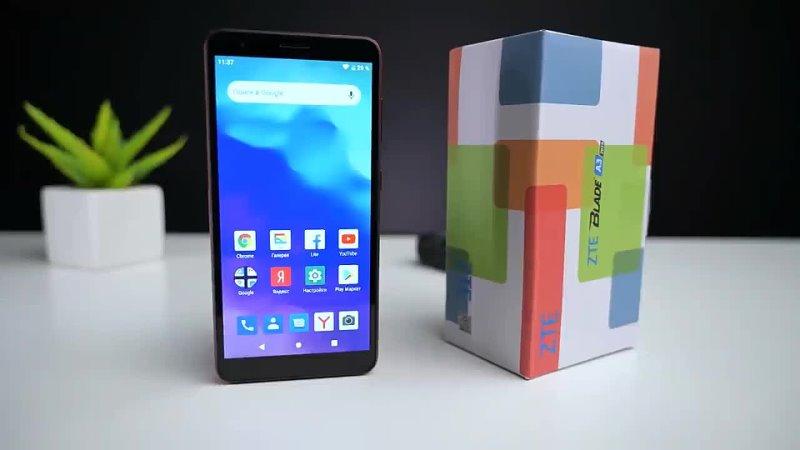 ZTE Blade A3 2020 ультрабюджетный смартфон с хорошим функционалом и дешевле 5500р у нас в акции