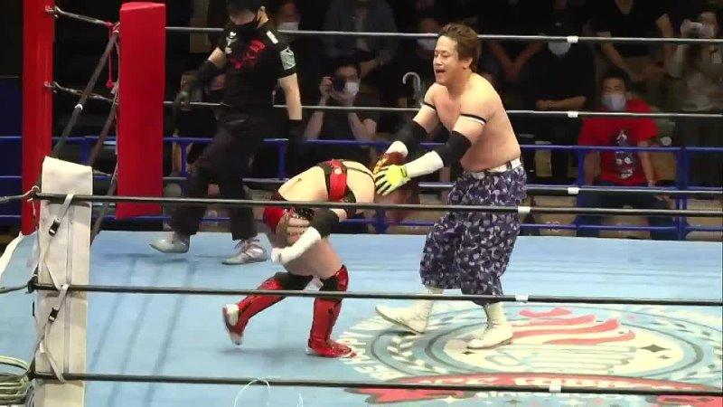 Suzu Suzuki vs Yuko Miyamoto Ice Ribbon New Ice Ribbon 1129 ~ After The Rain Ribbon ~ Goodbye Our Matsuya Uno