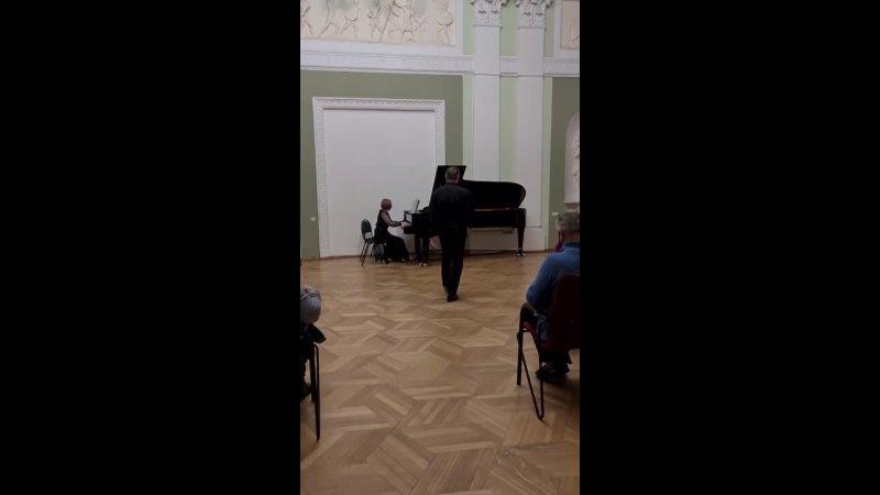 Хоровой театр Бориса Певзнера в Москонцерте на Пушечной