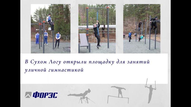 Компания ФОРЭС профинансировала установку спортплощадки в Сухом Логу