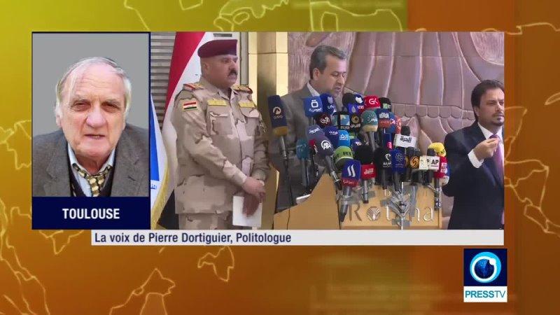 Irak Elections Coup d'épée US dans l'eau