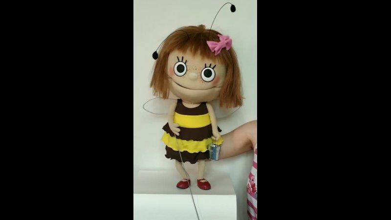 Пчёлка Маня на ферме
