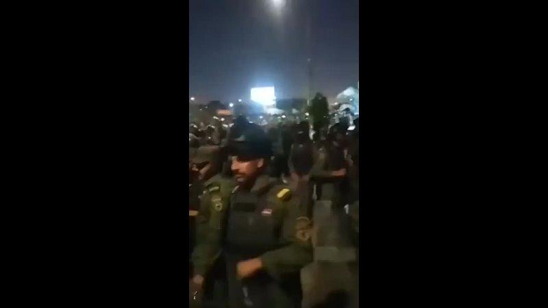 Проиранские формирования попытались штурмовать американское посольство и военную базу в Багдаде