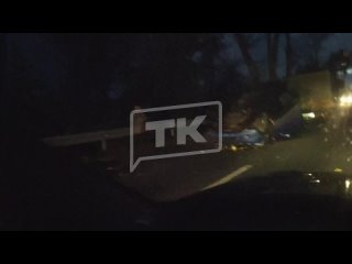 В Калининграде и области массовое падение деревьев...
