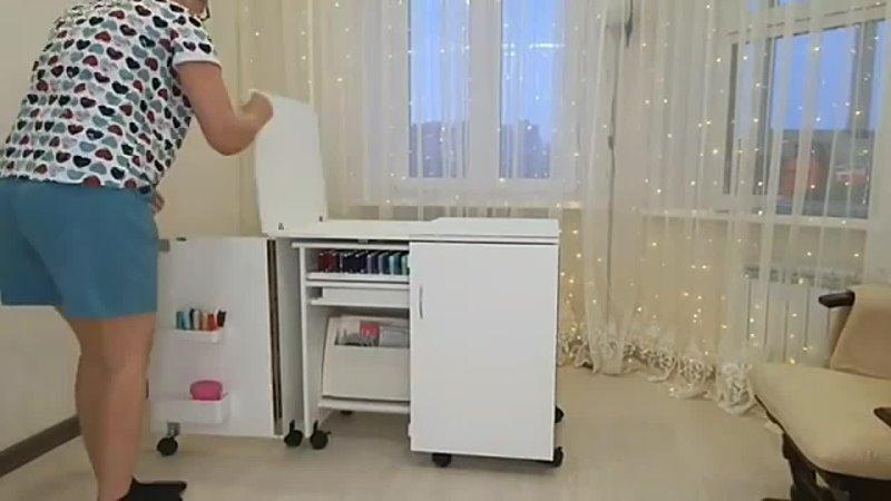 Видео от Комфорт мебель для шитья и рукоделия
